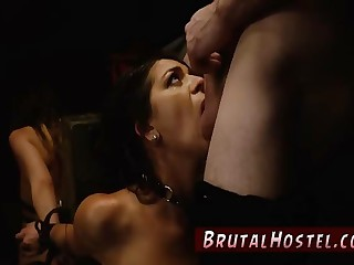 Teen bondage orgy Two young sluts, Sydney Cole and Olivia